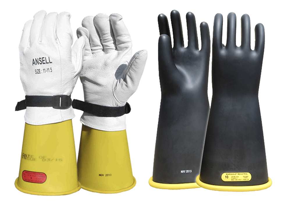 Rubber Insulating Gloves and Sleeves