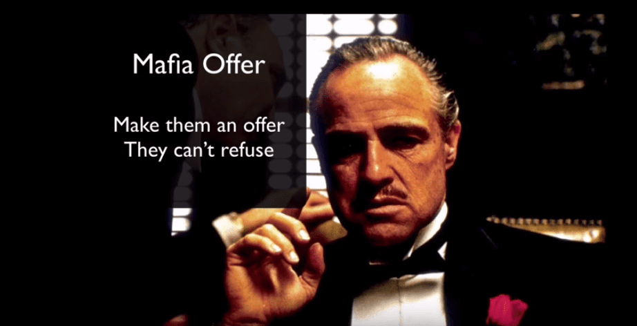 making a mafia offer